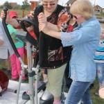В североуральском поселке Крутой Лог пенсионеры смогли позаниматься на тренажерах