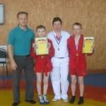 Две медали из Лысьвы привезли североуральские самбисты