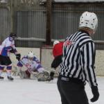 Североуральская команда заняла второе место на первенстве округа по хоккею