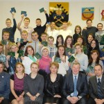 В Североуральском образовательном центре первокурсников посвятили в студенты