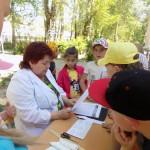 Инспекторы ОГИБДД провели профилактическое мероприятие в летнем лагере