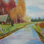 Североуральцев и гостей города приглашают в музей на выставку картин Виктора Рогонова