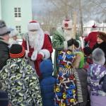 В поселке Калья прошел Слет Дедов Морозов