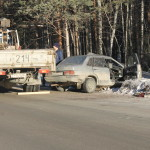 Североуральск. Вблизи поселка Черемухово произошло смертельное ДТП. Фото, видео