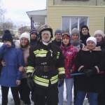 Экскурсия в 53 пожарно-спасательную часть