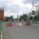 Движение на перекрестке улиц Чкалова-Ленина перекрыто (Фотофакт)