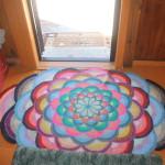 Такой вот уютный коврик