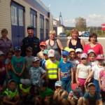 Дошколята побывали на экскурсии  в пожарно-спасательной части