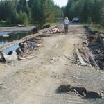 Баяновский мост разваливается. Восстанавливать обязаны лесозаготовители