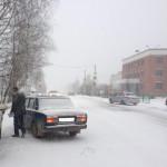 Госавтоинспекция предупреждает жителей Североуральска о первых гололёдах на дорогах