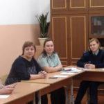 Полицейские Североуральска приняли участие в правовом информировании и консультирование подростков и родителей
