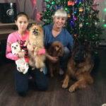 Для карпинской семьи Павлович год Собаки - особенный. Эти животные для них – не просто домашние питомцы