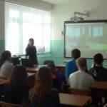 В Североуральске сотрудники ОВД рассказали о профессии полицейского старшеклассникам