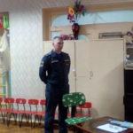 Сотрудники МЧС провели родительское собрание в детском саду