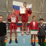 У наших самбистов - три медали открытого областного турнира