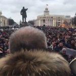 Жители Кемерово вышли на стихийный митинг. ПРЯМОЙ ЭФИР