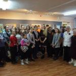 На встречу с краснотурьинской художницей пришли более 50 юных североуральцев
