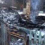В Североуральске зафиксирован первый пожар на дачном участке