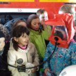 Школьники сходили в гости к пожарным. Всем понравилось