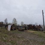 """Многие дома, оставшиеся в сохранности, жители Ивделя используют под дачи. Фото: Андрей Клеймёнов, """"Глобус""""."""