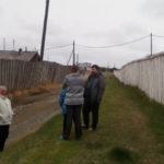 Вместе с Дмитрием Халяпиным и Ольгой Вековшининой в Лозьве побывал журналист, член ОНК Андрей Клеймёнов. Фото предоставлено Ольгой Вековшининой.