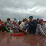 Североуральские огнеборцы приняли участие в памятной акции