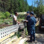 Сотрудники МЧС вышли в коллективные сады. С проверками