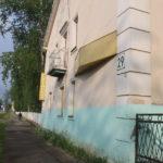 Здание бывшей неврологии, а позже гостиницы