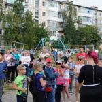 В проблемном дворе на улице Ленина, 35 планировалась встреча с депутатами, но прошел... праздник