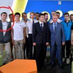 Выпускник пришел на встречу с Путиным в футболке с надписью